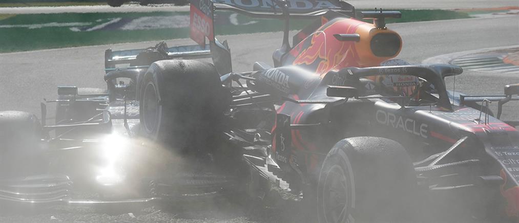 Ατύχημα στην F1: Σφοδρή σύγκρουση Χάμιλτον - Φερστάπεν (βίντεο)