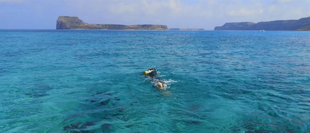 Κολύμπι στον κόλπο Κισσάμου για καλό σκοπό (εικόνες)