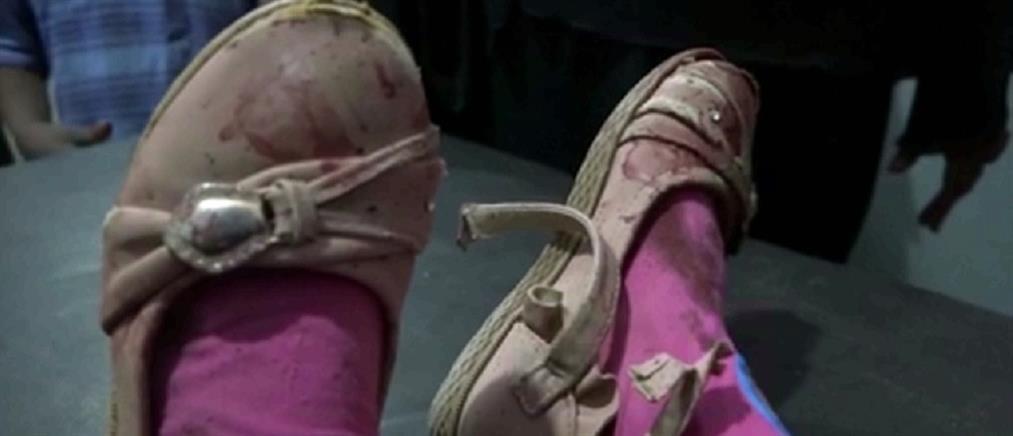 Σκληρές εικόνες: Νεκρό κοριτσάκι από σφαίρες ελεύθερου σκοπευτή