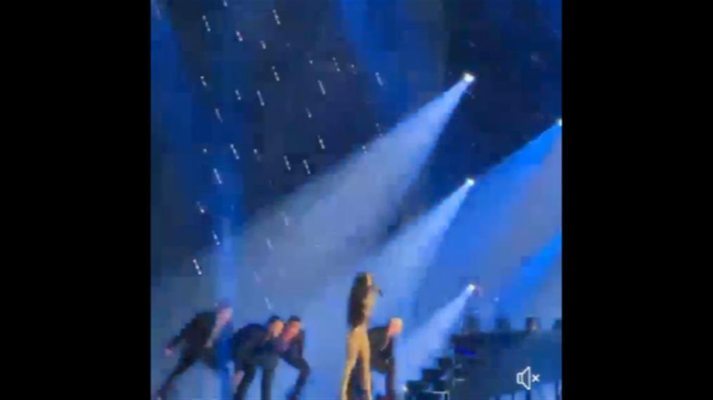 Eurovision: Εκρηκτική η Φουρέιρα στην πρόβα για τον τελικό