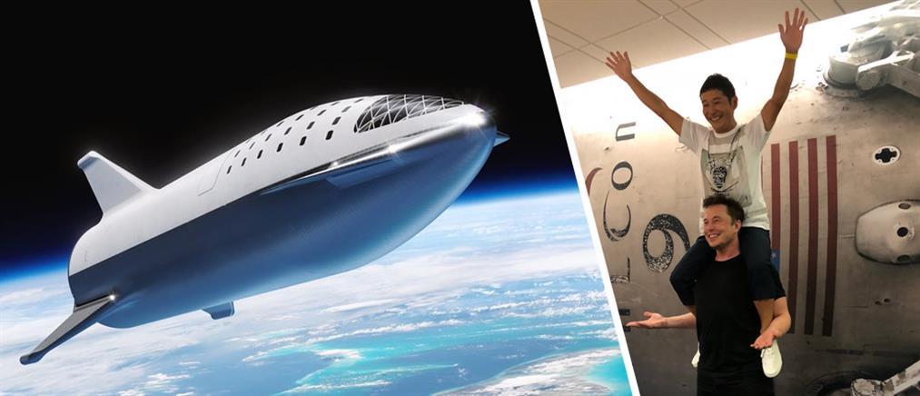 Αποκαλύφθηκε το όνομα του πρώτου τουρίστα που θα πάει στην Σελήνη (εικόνες)