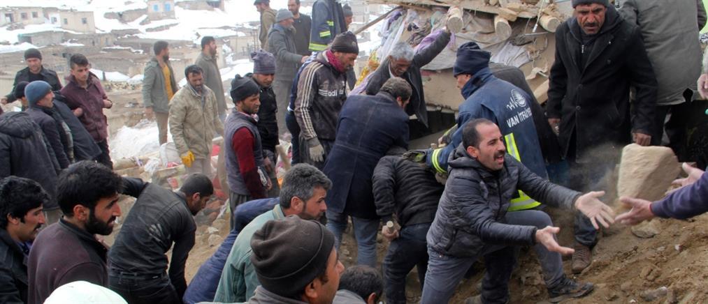 Νέος ισχυρός σεισμός στα σύνορα Ιράν - Τουρκίας