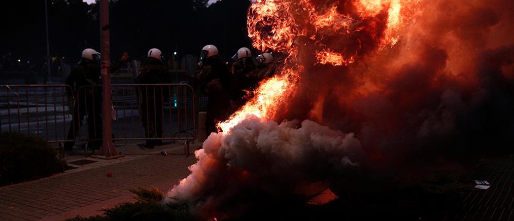 Θεσσαλονίκη: Συλλήψεις μετά τα επεισόδια με αντιεμβολιαστές