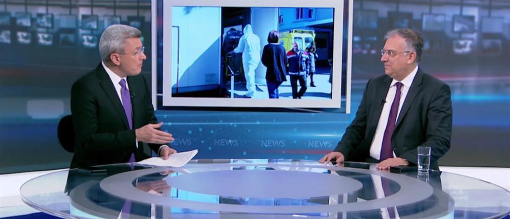 Ο Τάκης Θεοδωρικάκος στον ΑΝΤ1 για τις άδειες ειδικού σκοπού και τα μέτρα για τον κορονοϊό (βίντεο)
