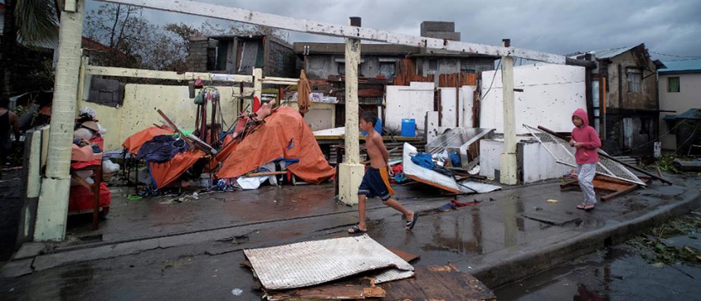 Φιλιππίνες: Τραγικός απολογισμός από το πέρασμα του τυφώνα Φανφόν