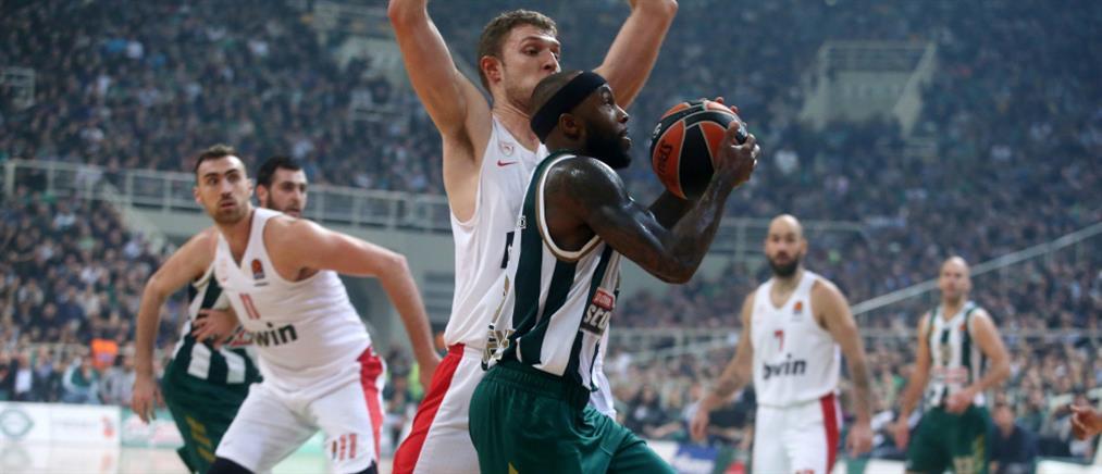 """Παναθηναϊκός-Ολυμπιακός: """"Πράσινο"""" το ελληνικό ντέρμπι της Euroleague"""