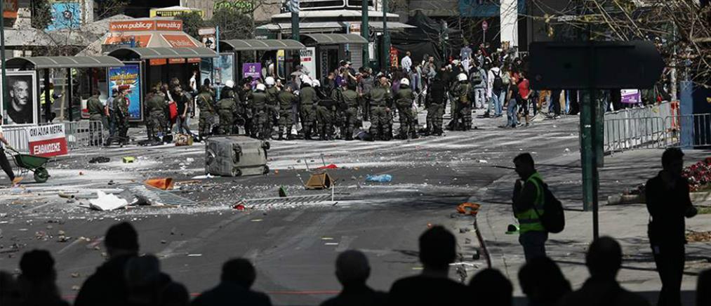 """""""Πεδίο μάχης"""" το κέντρο της Αθήνας για τα γυρίσματα χολιγουντιανής ταινίας (εικόνες)"""