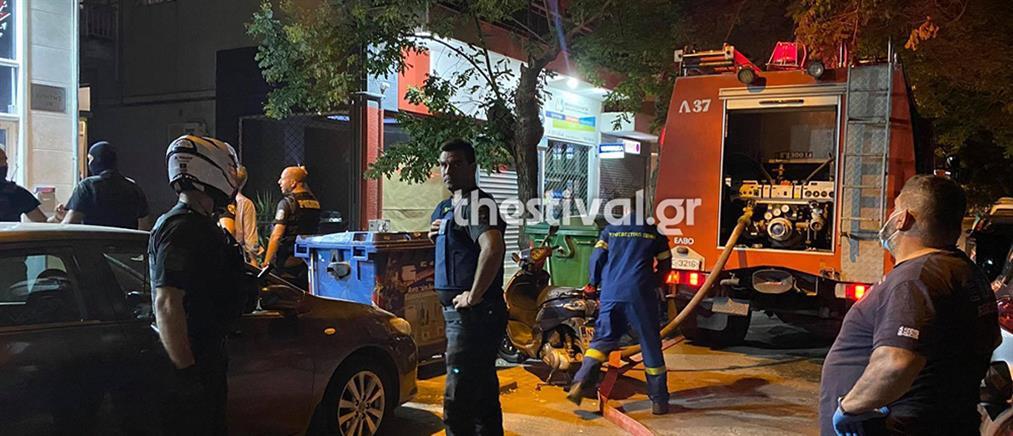 Θεσσαλονίκη: Φωτιά σε διαμέρισμα, απεγκλωβίστηκαν ηλικιωμένοι (εικόνες)