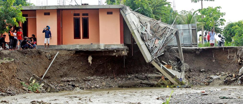 Δεκάδες νεκροί από πλημμύρες σε Ινδονήσια και Ανατολικό Τιμόρ (εικόνες)