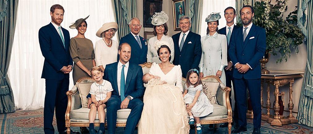 Οι επίσημες φωτογραφίες από την βάπτιση του πρίγκιπα Λούις (εικόνες)