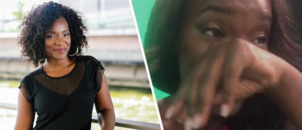 Παρουσιάστρια καταγγέλλει, με δάκρυα στα μάτια, τον ρατσισμό εναντίον της (βίντεο)