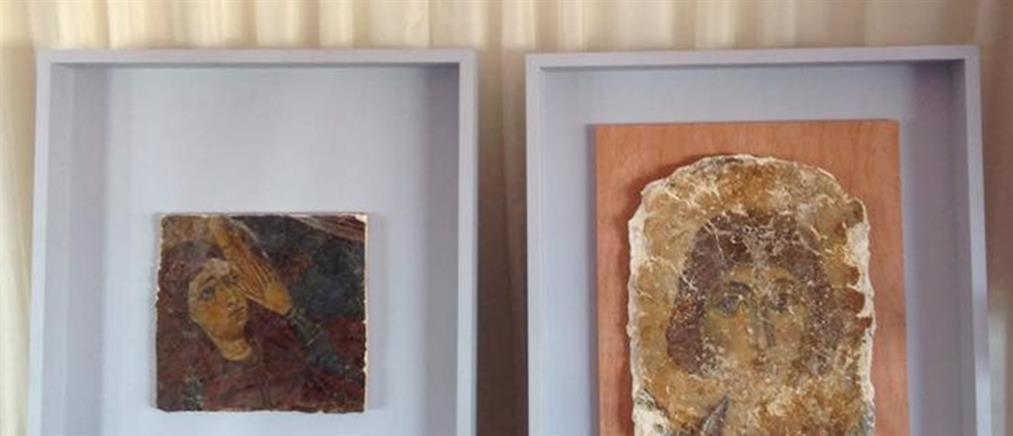Επιστρέφονται στην Κύπρο τοιχογραφίες που είχαν συληθεί στα Κατεχόμενα