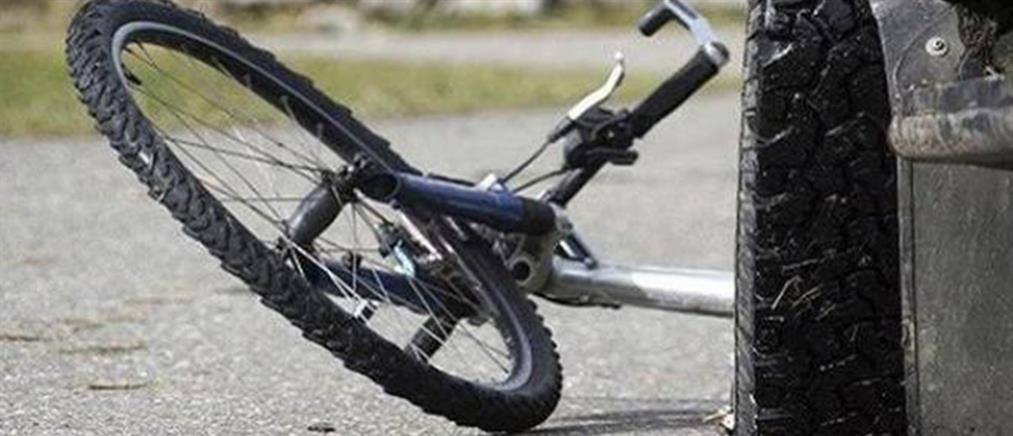 Νεκρή ποδηλάτισσα μετά από τροχαίο βίντεο)