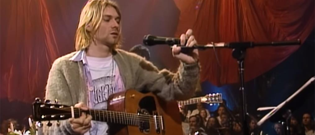 """Στο """"σφυρί"""" η κιθάρα του Cobain στο """"Unplugged"""" (εικόνες)"""