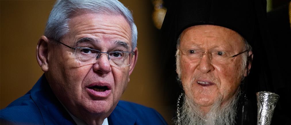 Μενέντεζ για Βαρθολομαίο: με εμπνέει η παγκόσμια ηγεσία του