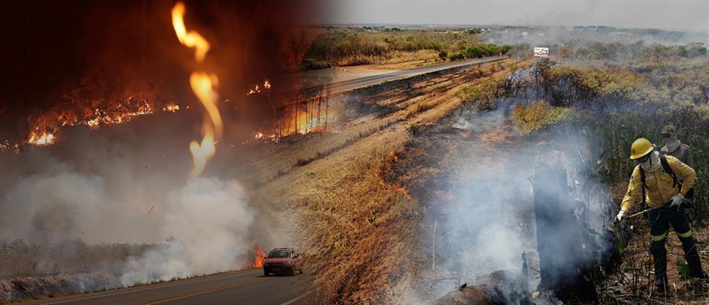 """Αμαζόνιος: εξαπλώνεται ο """"πύρινος εφιάλτης"""""""