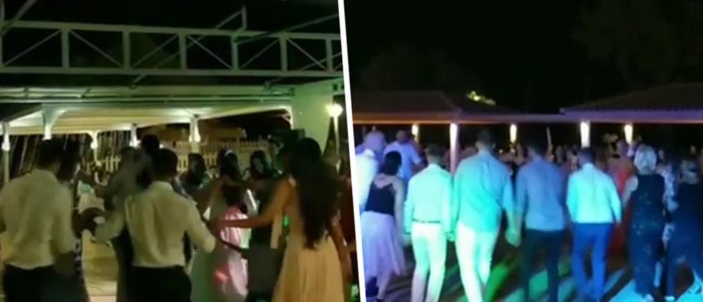 Απίστευτες εικόνες συνωστισμού σε γαμήλια γλέντια (βίντεο)