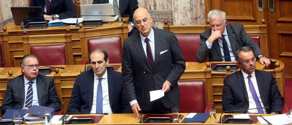 Δένδιας: Δεν θεωρούμε έγκυρο το κείμενο της συμφωνίας Τουρκίας – Λιβύης