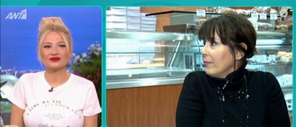 """Η Ελίνα Κωνσταντοπούλου στο """"Πρωινό"""" για την καριέρα που… άφησε και στην Ρούλα Κορομηλά (βίντεο)"""