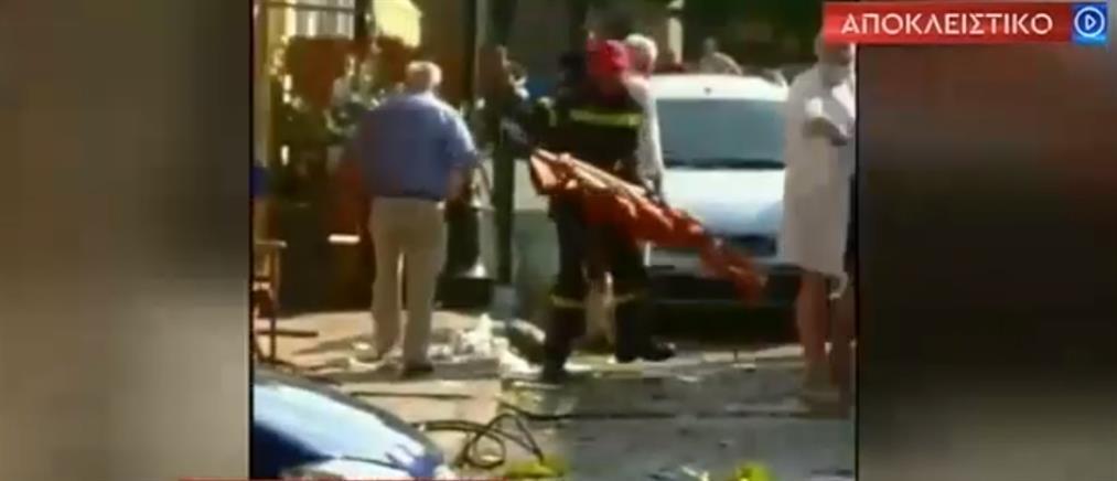 Βίντεο ντοκουμέντο αμέσως μετά το αεροπορικό ατύχημα στις Σέρρες (βίντεο)