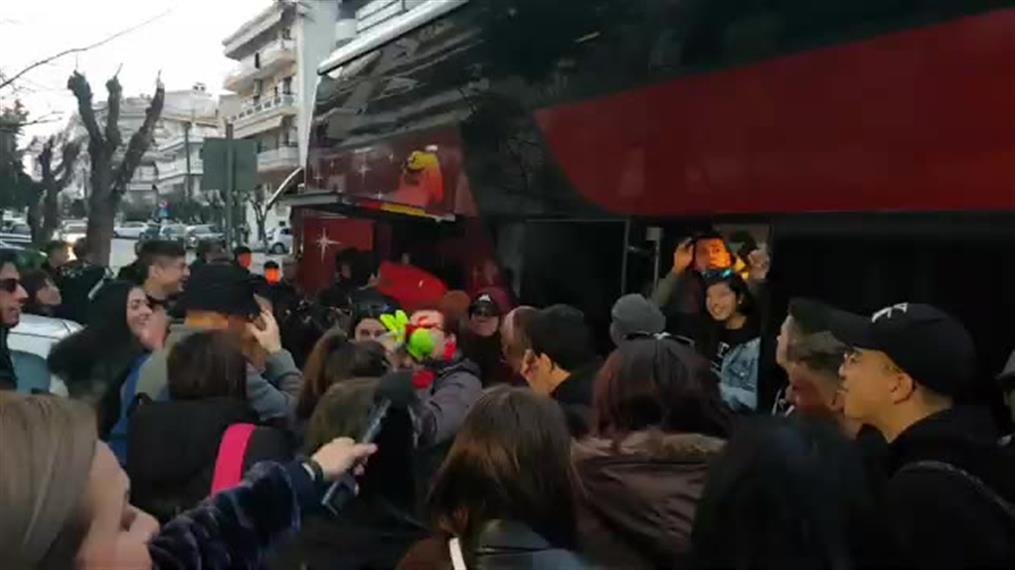 Επέστρεψαν στη Θεσσαλονίκη μαθητές από την Ιταλία