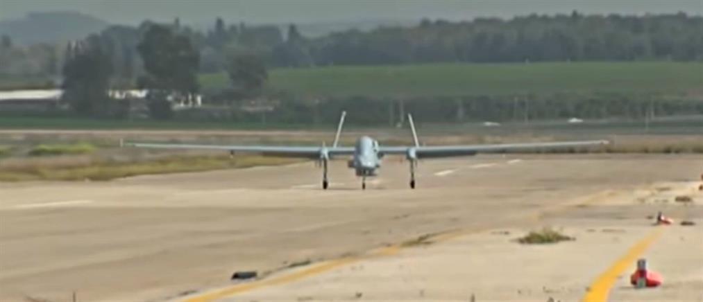Προμήθεια μη επανδρωμένων αεροσκαφών από το Ισραήλ (βίντεο)