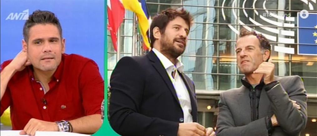 Ο Αλέξης Γεωργούλης στην πρώτη του τηλεοπτική συνέντευξη ως Ευρωβουλευτής (βίντεο)