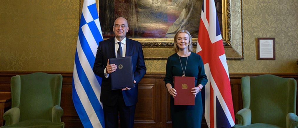 Δένδιας: Νέο κεφάλαιο στις σχέσεις Ελλάδας – Ηνωμένου Βασιλείου