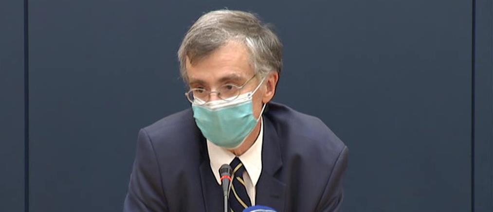 Κορονοϊός - Τσιόδρας: Αδύνατον να ελεγχθεί η διασπορά – Μοναδική επιλογή η μάσκα
