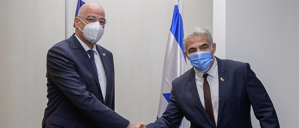 Κυπριακό - Δένδιας: Ξεκάθαρη η θέση του Ισραήλ για την απαράδεκτη τουρκική στάση