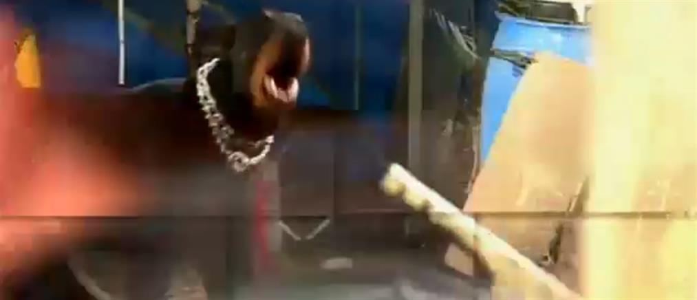 """""""Κραυγή αγωνίας"""" για την εγκληματικότητα στην Ακαδημία Πλάτωνος (βίντεο)"""