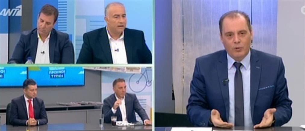 Βελόπουλος στον ΑΝΤ1: ζητώ απαγόρευση κυκλοφορίας μετά τις έξι το απόγευμα