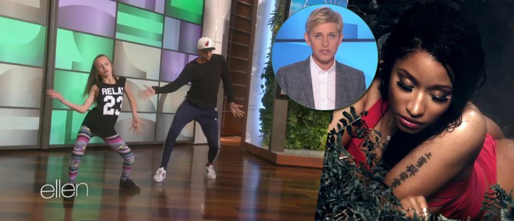 Ο αλά Minaj χορός 11χρονης
