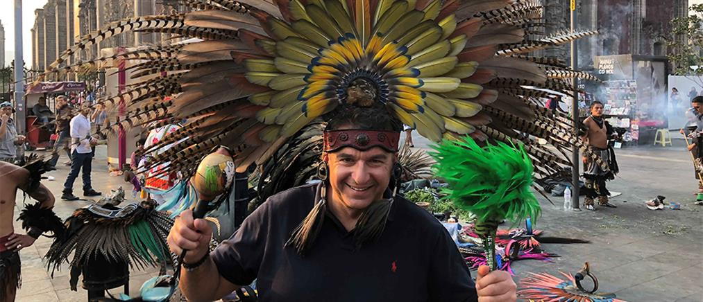 "Celebrity Travel: ""μαγικές εικόνες"" κι αποκαλύψεις από τον Γιώργο Λιάγκα στο Μεξικό"