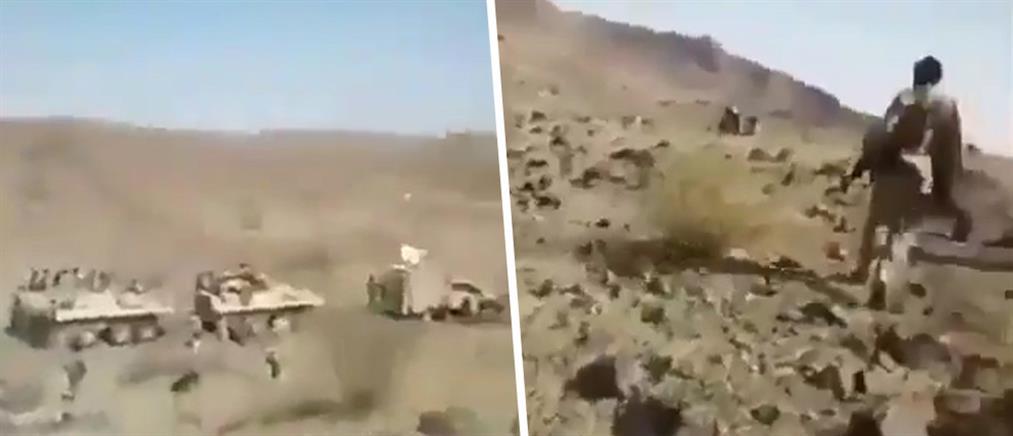 Βίντεο-ντοκουμέντο από την επίθεση Χούτι σε τεθωρακισμένα της Σαουδικής Αραβίας