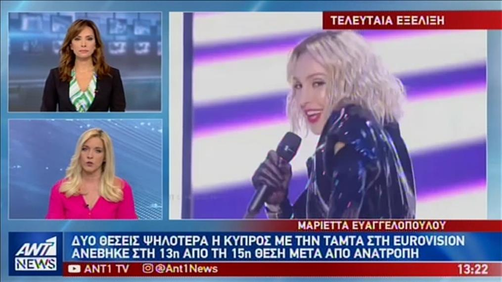 Ανατροπή στη Eurovision με…άνοδο για την Κύπρο