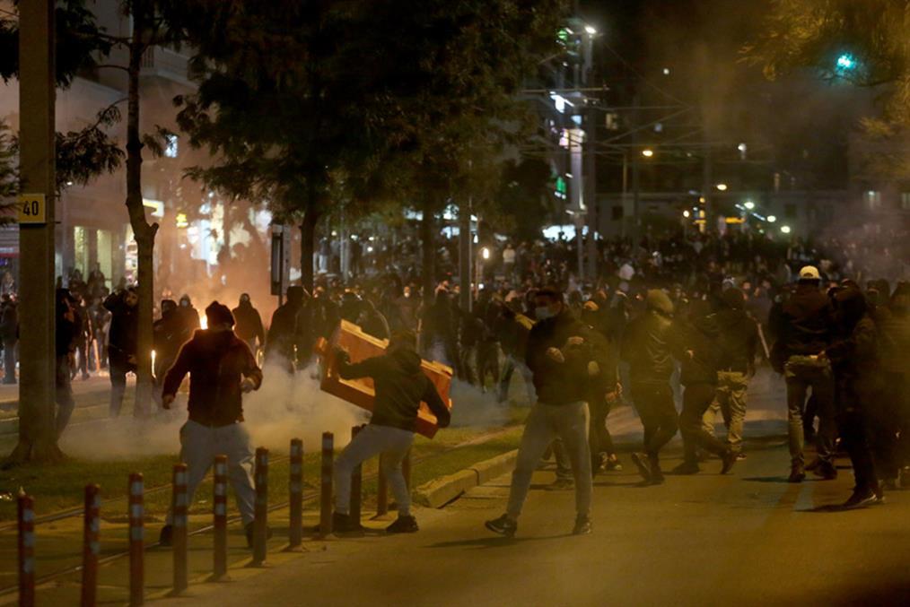 Νέα Σμύρνη - επεισόδια - διαδηλώσεις