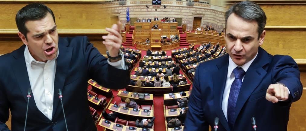 """""""Πετάει το γάντι"""" στον Τσίπρα ο Μητσοτάκης για πρόωρες εκλογές"""