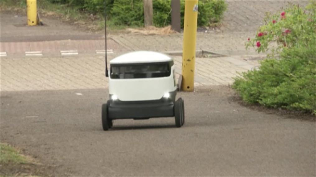 Ρομπότ-κούριερ αναλαμβάνουν τις παραδόσεις δεμάτων