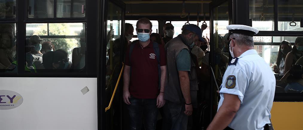 Κορονοϊός: μαζικοί έλεγχοι σε ΜΜΜ