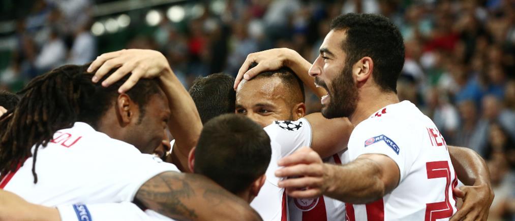 Champions League: Ο Ολυμπιακός προκρίθηκε στους ομίλους
