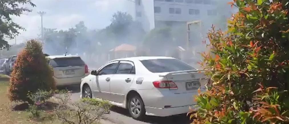 Ταϊλάνδη: Βομβιστική επίθεση σε κυβερνητικό κτήριο (βίντεο)