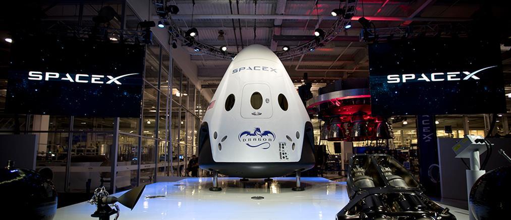 Με το Dragon V2 θα ταξιδεύουν οι Αμερικανοί στον ISS
