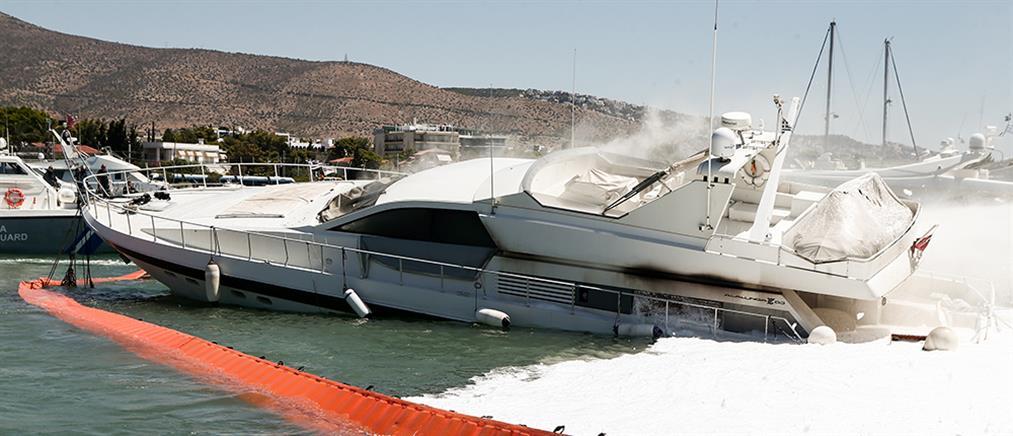 """""""Συναγερμός"""" από πυρκαγιά σε σκάφος"""