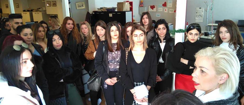Εκπαιδευτική επίσκεψη φοιτητών στα στούντιο του ΑΝΤ1