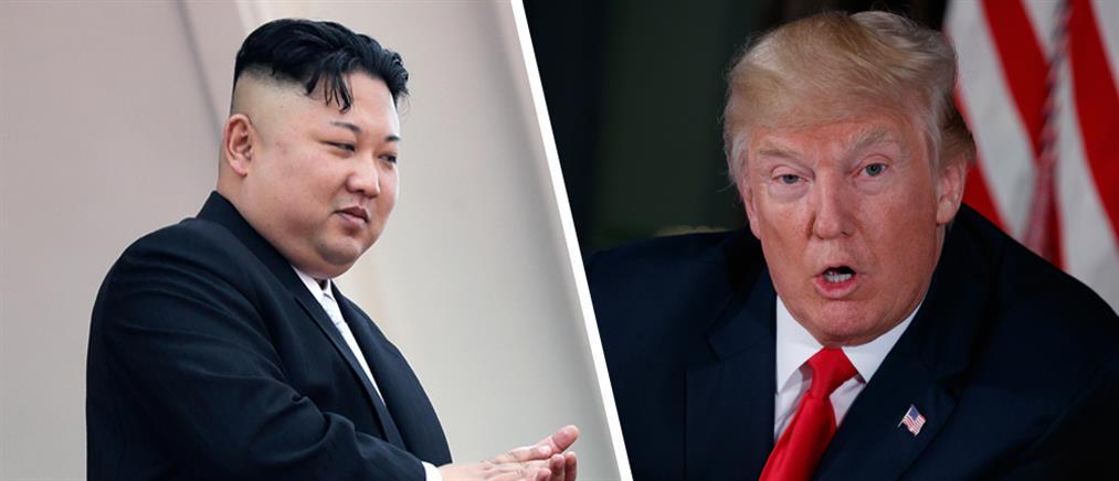 """Νέο """"καμπανάκι"""" Τραμπ στην Βόρεια Κορέα"""