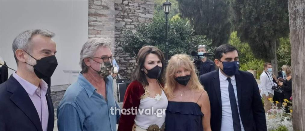 Κερτ Ράσελ και Γκόλντι Χόουν: Από τη Θεσσαλονίκη, διακοπές στη Σκιάθο (εικόνες)