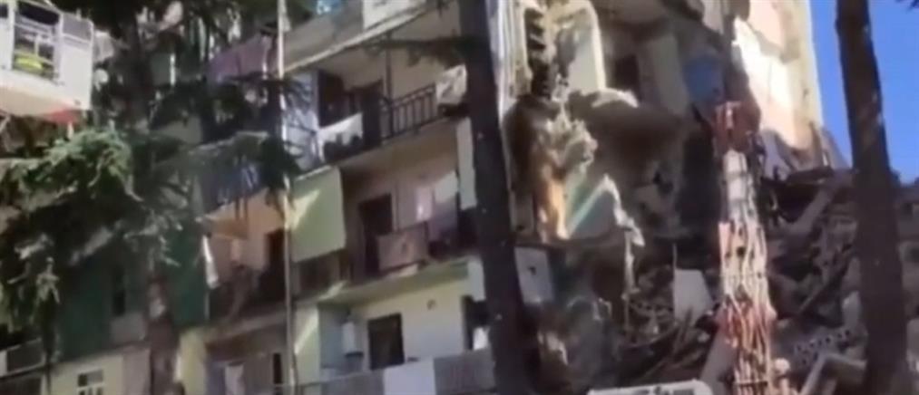 Γεωργία: Κατάρρευση πολυκατοικίας στο Μπατούμι (εικόνες)