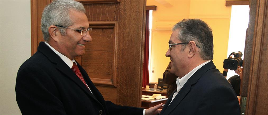 Τι συζήτησαν Κουτσούμπας – Κυπριανού στη Βουλή