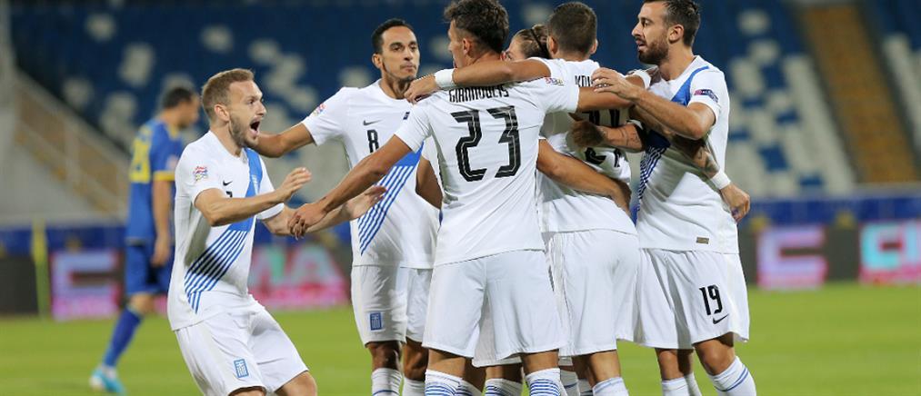 """Nations League: """"Καθάρισε"""" το Κόσοβο η Εθνική Ελλάδας"""